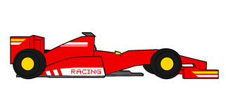 Formula car Royalty Free Stock Photo