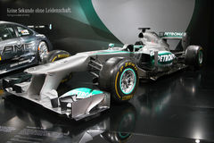 Formula 1 Car Mercedes F1 W04 Royalty Free Stock Photo