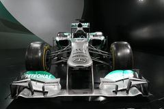 Formula 1 Car Mercedes F1 W04 Stock Photos
