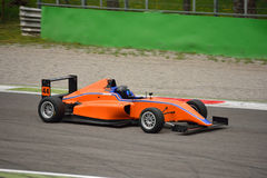 Formula 4 car test at Monza Stock Images