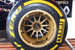 Formula 1 carbon brake disc Royalty Free Stock Photo