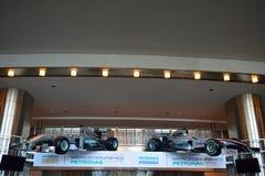 Formula 1 cars, Kuala Lumpur, Malaysia Stock Image