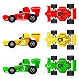 Formula Cars Vector Stock Image