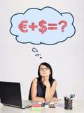 Formula di affari Immagini Stock