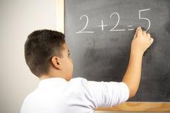 Formula differente di per la matematica Fotografia Stock