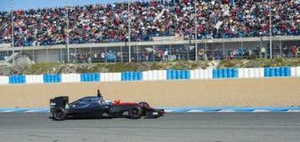 Formula 1, 2015: Fernando Alonso, McLaren-Honda Fotografie Stock