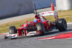 Formula 1 Ferrari Royalty Free Stock Photo