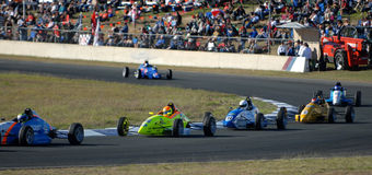 Formula Ford race Royalty Free Stock Photos