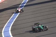 FORMULA 1 Grand Prix RUSSIAN 2014 stock image