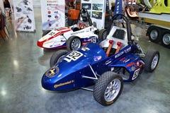 Formula Hybrid engineered by students auto Stock Image