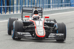 Formula 1 2015: Jenson Button Royalty Free Stock Images