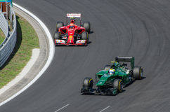 Formula 1 - Kimi Raikkonen Stock Photo