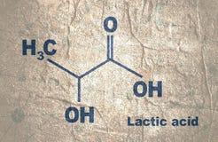 Formula of Lactic acid