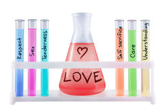 Formula of love. Stock Photos