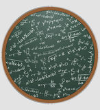 Formula math chalkboard Royalty Free Stock Photography