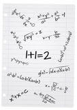 Formula math Stock Images