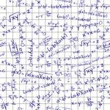 Formula math seamless pattern Stock Image