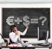 Formula of money Royalty Free Stock Image