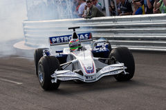 Formula One. Augustus Farfus driving a BMW Sauber Formula One car Stock Image