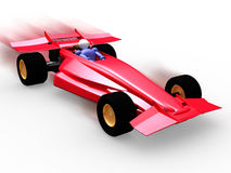 Formula One. 3d Formula stock illustration