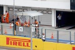 Formula one Royalty Free Stock Photography