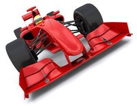 Formula one car. 3d render of a formula one racing car Royalty Free Stock Photography