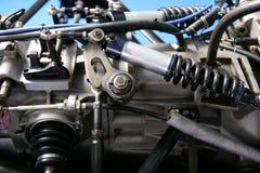 Formula one car engine Stock Images