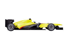 Formula one car with path Stock Images