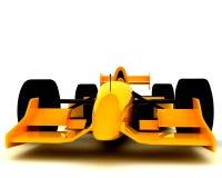 Formula One Car004. A Formula One Car on white backdrop004 Royalty Free Stock Photography