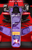 Formula One concept Race Car Stock Images