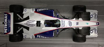 Formula one F1 car by BMW Stock Images