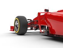 Formula one front wheel and tire Royalty Free Stock Image