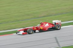 Formula One GP Round 2 in Sepang Malaysia Stock Image