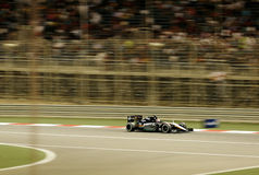 Formula one Gulf Air Bahrain Grand Prix 2015 Royalty Free Stock Photos