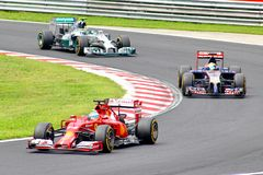 Formula One Hungarian Grand Prix Stock Photo