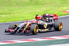Formula One Hungarian Grand Prix Royalty Free Stock Photography
