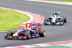 Formula One Hungarian Grand Prix Stock Images