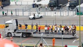 Formula one Royalty Free Stock Photo