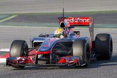 Formula One - McLaren Royalty Free Stock Photos