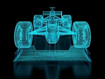 Formula One Mesh Royalty Free Stock Photography