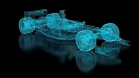 Formula One Mesh Royalty Free Stock Images