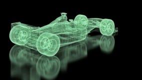 Formula One Mesh stock video