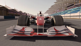 Formula one race car Royalty Free Stock Photo