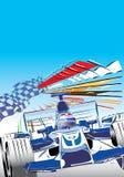 Formula one race car Stock Images