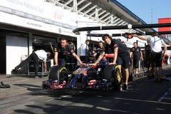 Formula One Racing car  - F1 Photos Stock Photography