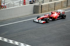 Formula One Racing Car - Ferrari Royalty Free Stock Images