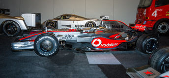 Formula One racing car McLaren-Mercedes MP4-23, 2008. Stock Photo