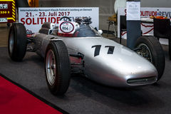 Formula One racing car Porsche 804, 1962. Royalty Free Stock Image