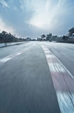 Formula One racing track Royalty Free Stock Photography