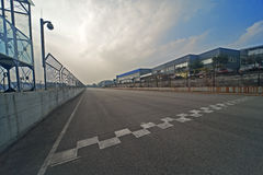 Formula One racing track Royalty Free Stock Photos